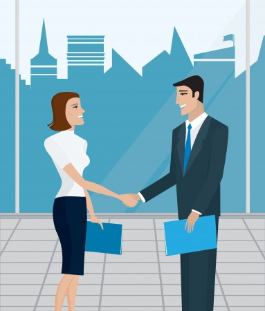 16437838 - business people, business meeting, business agreement